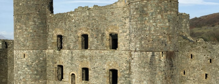 Harlech Castle is one of Favorite Great Outdoors.