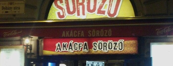 Akácfa Söröző is one of Itt már italoztam....