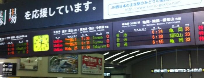JR 京都駅 在来線ホーム is one of JR線の駅.