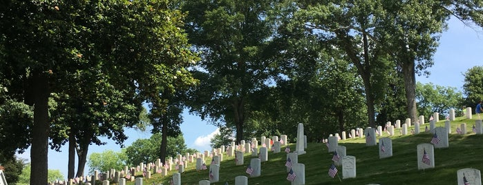 Marietta National Cemetery is one of favorites.