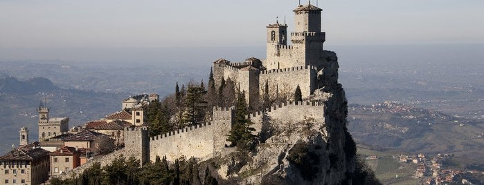 Republic of San Marino is one of ITINERARI E LUOGHI IN TERRA DI ROMAGNA.
