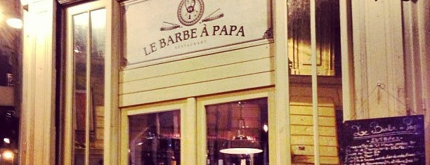 Le Barbe à Papa is one of Restaurants.