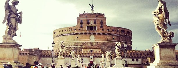 Castle of the Holy Angel is one of Rome 9 Jan - 12 Jan.