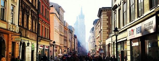 Ulica Floriańska is one of Kraków.