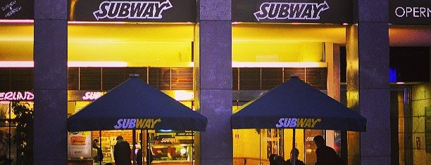 Subway is one of Food @Vienna.