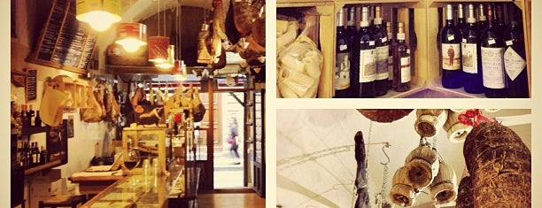 La Prosciutteria is one of Florence Bars, Cafes, Food, POI.