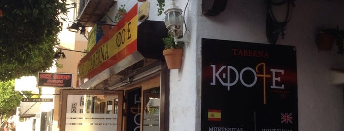 Taberna K-Pote is one of Torremolinos - Benalmádena.