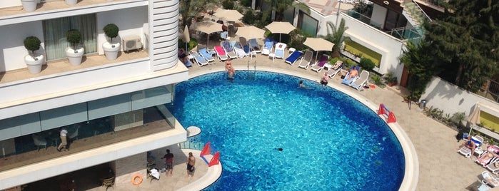 Blue Bay Platinum Hotel is one of Marmaris Otelleri.