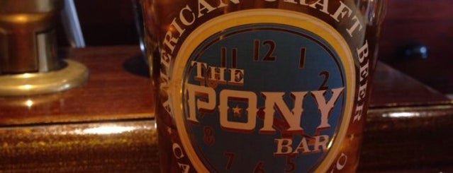 The Pony Bar is one of The Hell's Kitchen List by Urban Compass.