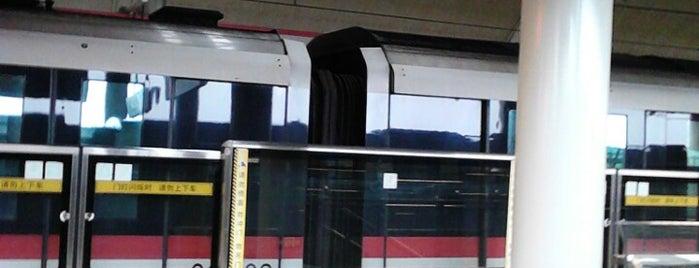 Fujin Rd. Metro Stn. is one of Metro Shanghai.