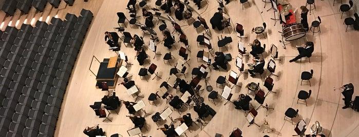 Elbphilharmonie is one of Zvuk.
