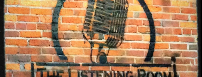 The Listening Room Cafe is one of Nashville Places to Be.