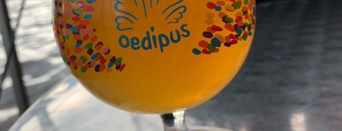 Oedipus Brewing is one of Z☼nnige terrassen in Amsterdam❌❌❌.