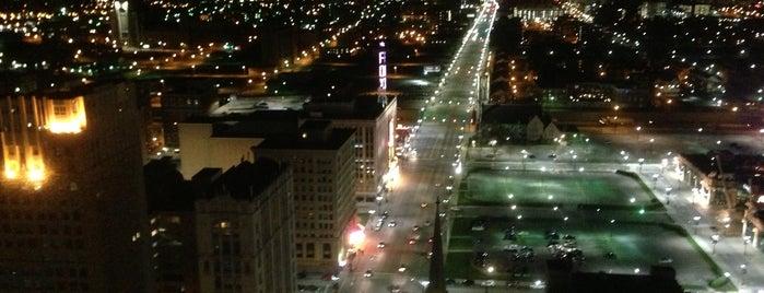 City of Detroit is one of Comfort Zones.