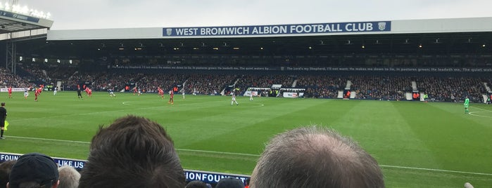 The Hawthorns is one of Места для видеотрансляций.