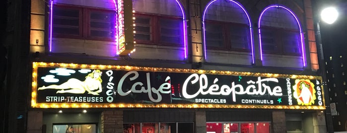 Café Cléopâtre is one of Favorite Nightlife Spots.