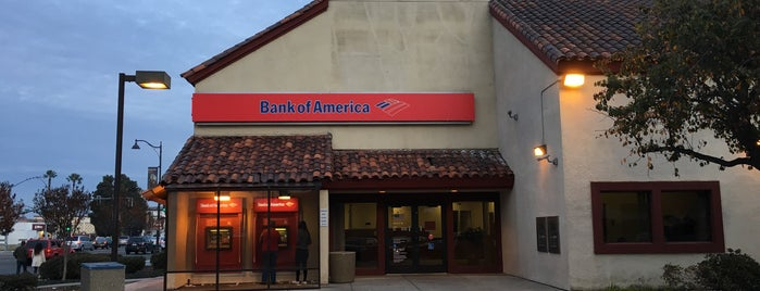 Bank of America is one of My Places.