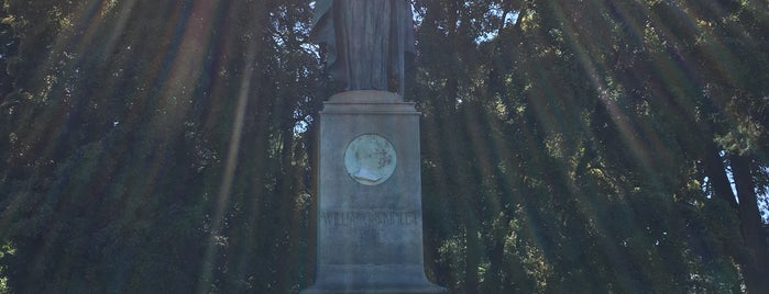 William McKinley Statue is one of Dog Friendly SF.