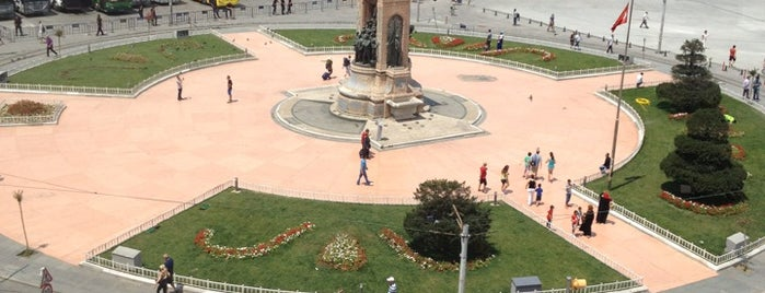 Taksim Square is one of destinations  :P.