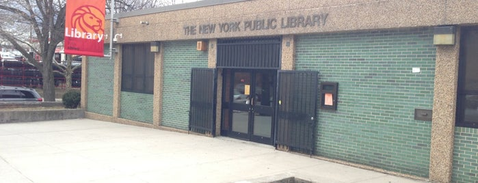 New York Public Library - Edenwald Library is one of New York Public Libraries.