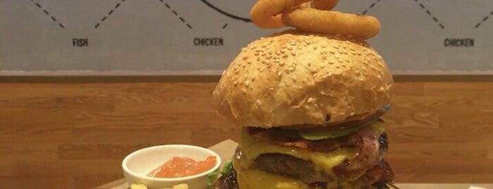 Burger Lab is one of Бургеры.
