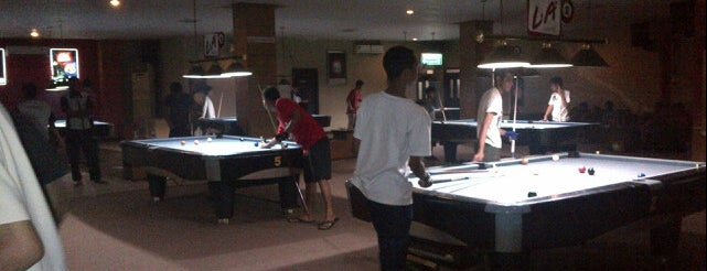 Merdeka Pool Lounge is one of Pekalongan World of Batik.