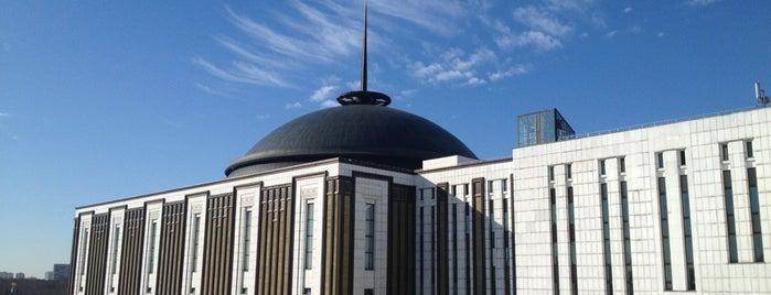 Центральный музей Великой Отечественной войны is one of moscow museums.