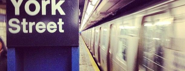 MTA Subway - York St (F) is one of MTA Subway - F Line.