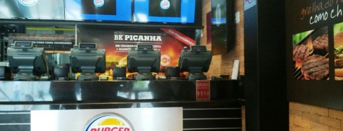 Burger King is one of Comer e beber.