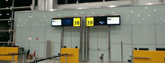 Portão 38 is one of Aeroporto de Guarulhos (GRU Airport).