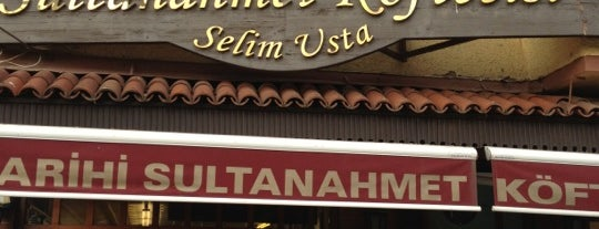 Tarihi Sultanahmet Köftecisi is one of My favourites for Cafes & Restaurants.