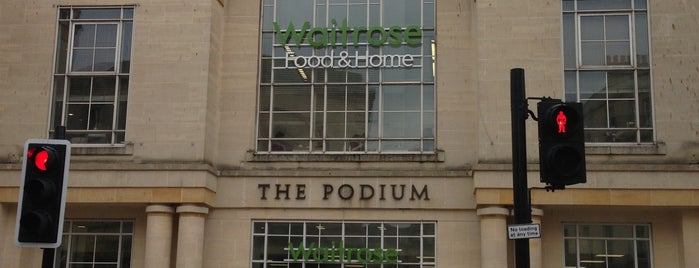 The Podium Shopping Centre is one of Bath.