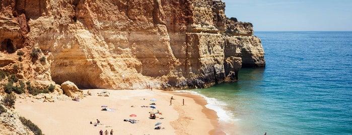 Praia de Benagil is one of Algarve & Alentejo beach guide.