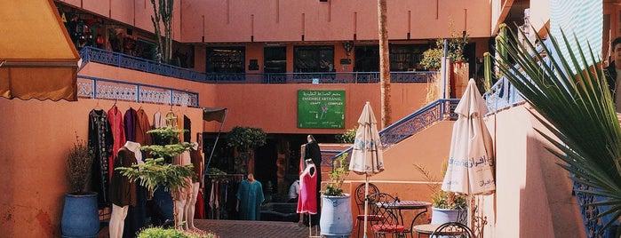 Ensemble Artisanal is one of Marrakesh city guide.