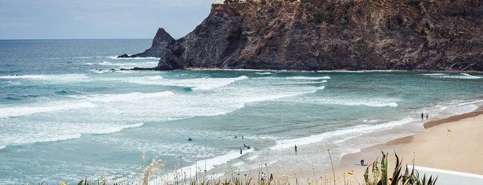 Praia de Odeceixe is one of Algarve & Alentejo beach guide.