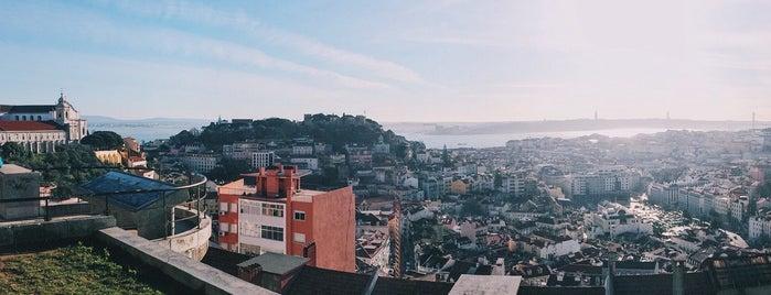 Miradouro da Senhora do Monte is one of Lisbon city guide.