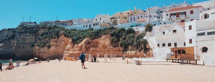 Praia do Carvoeiro is one of Algarve & Alentejo beach guide.