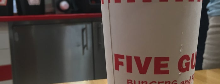 Five Guys is one of Burger London.