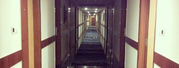 Landmark hotel is one of Kanpur.