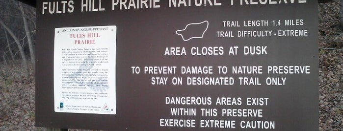Fults Hill Prairie Nature Preserve is one of Illinois: State and National Parks.