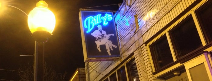 Billy's Lounge is one of Places to check out.