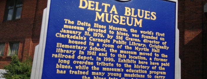 Delta Blues Museum is one of Best Places to Check out in United States Pt 3.