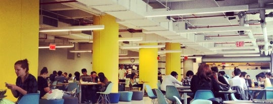 NYU Jasper Kane Dining Hall (Lackmann) is one of Places to Use Campus Cash.