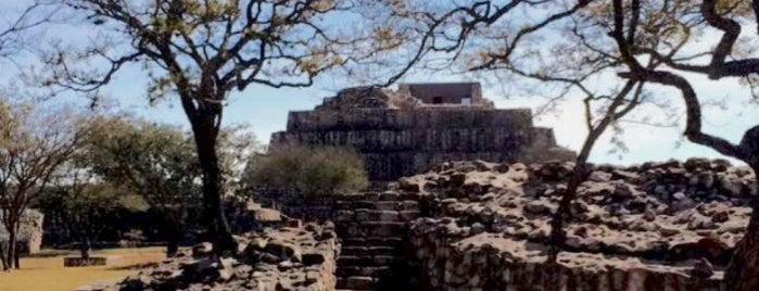 """Zona Arqueológica """"Cañada de la Virgen"""" is one of SMA + GTO."""