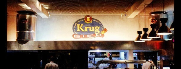 Krug Bier is one of Eu bebo sim e, estou vivendo..