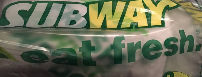 Subway is one of Lunch Run!!!.