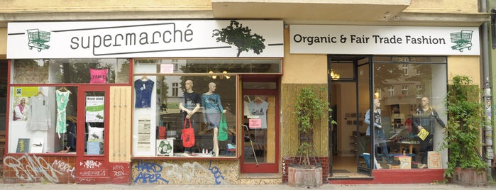 Supermarché is one of Berlin.