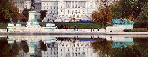 Capitol Reflecting Pool is one of Washington, DC.