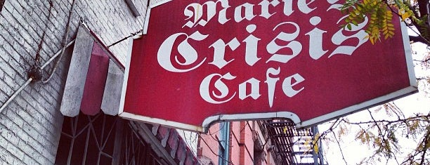 Marie's Crisis Cafe is one of West-Greenwich village.