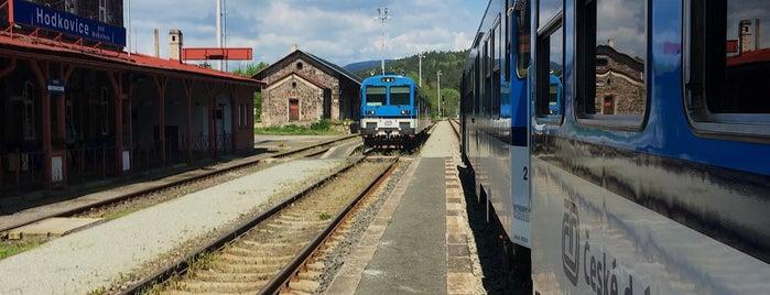 Železniční stanice Hodkovice nad Mohelkou is one of Železniční stanice ČR: H (3/14).